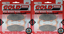 YAMAHA MT-03 (660cc) MT03   SINTERED CERAMIC FRONT BRAKE PADS (2x Sets) GOLDFREN