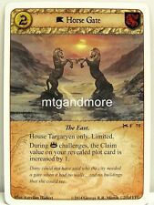 A Game of Thrones LCG - 1x Horse Gate  #075 - A Time for Wolves