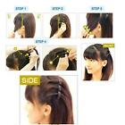 1PC 2 Layers Design Hairdressing Tool  Styling Women Bangs Hairpin Hair Clip