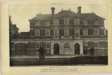 1906 Tottenham Town Hall, Fire Station And Public Baths, Arnold Tayler, Front