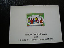 CONGO (brazzaville) - carte document unicef (Z1)