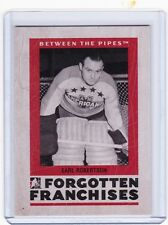 06-07 2006-07 BETWEEN THE PIPES EARL ROBERTSON FORGOTTEN FRANCHISES FF-06