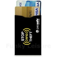 Pacsafe RFIDsleeve 25 RFID-Blocking Credit Card Sleeve - 2 Pack