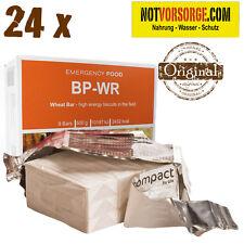 BP-WR alt BP-5 Notration 24 x 500 g Weizenriegel Original EMERGENCY NOTNAHRUNG