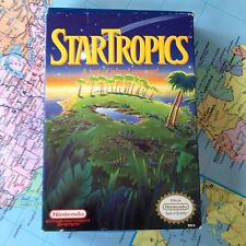 Nintendo NES StarTropics 1990 CIB Complete in Box Game, Manual and Letter