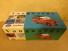 BOXED MODEL CAR VANGUARDS / LAND ROVER SERIES II MIDLAND RED 1/43