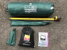 Wild Country by Terra Nova Zephyros 2 Person Tent Green + EXTRAS