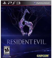 Resident Evil 6 (Sony PlayStation 3, 2012) *new,sealed*