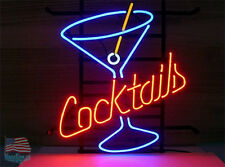 "Cocktail Cup Neon Sign 17""x14"" From USA"