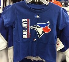 Toronto Blue Jays Kids Child Small, Age 4 T Shirt AC Collection Team Icon MLB