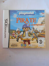 PIRATE à l'abordage Playmobil Nintendo DS DSi avec sa notice