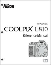 Nikon CoolPix L810 Digital Camera User Guide Instruction  Manual