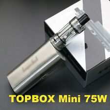 New 75W Temperature Control Topbox Mini Electronic Vapo Kit High Tobacco Smoke E