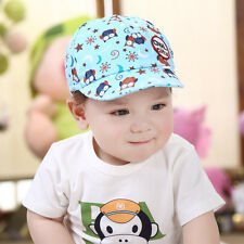 Toddler Girl Boy Cartoon Owl Baseball Snapback Hat Newborn Baby Cap Hip Hop 0-3T