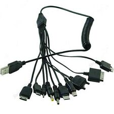 10in 1 USB Universal Multi-Function USB Charger Cable for Cell Phone New