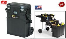 Mechanic Tools Mobile Wheel Parts Box Cabinet Storage Garage Portable Workshop