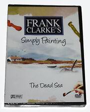 FRANK CLARKE'S - Simply Painting - The Dead Sea  - DVD - NEW IN SEALED BOX