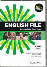 Oxford NEW ENGLISH FILE THIRD EDITION Intermediate Class Video DVD @NEW Sealed@