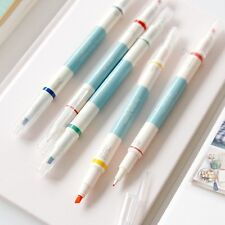 2 Way Deco Pen a pack of 5pcs - Fine/Thick Dual Nibs Water Based