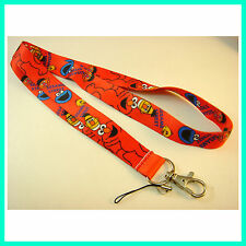 Sesame Street Elmo Monster Neck Lanyard Strap Cell Phone ID Card Keychain + GIFT