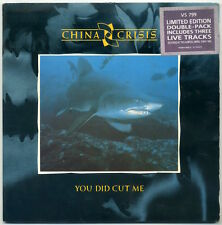 "CHINA CRISIS You Did Cut Me 2x7"" 1985 UK Virgin EX+ in VG+ jacket"
