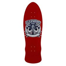 Elephant Brand Mike Vallely STREET AXE LARGE Skateboard Deck MAROON