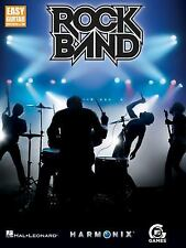 Easy Guitar with Notes and Tab: ROCK BAND by Hal Leonard, LNC