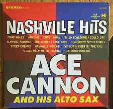 Ace Cannon and his Alto Sax: Nashville Hits US LP Hi Recs