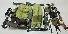 Military Uniform Weapons Accessories for 1/6 Scale Action Figure GI Joe Lot #385