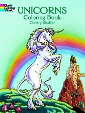 Coloring Books For Adults Unicorns Art Design Patterns -Painting Stress Relaxing