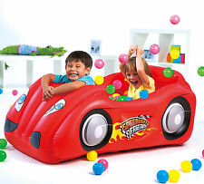 Race Red Car AND Game Ball Pit Combo - Splash And Play ** GREAT FUN / GIFT **