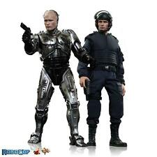 RoboCop Battle Damaged and Alex Murphy 1/6th Scale Hot Toys Action Figure 2 Pack