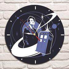 Reloj De Pared Dr. que Color Vinyl Record De Diseño Hogar Tienda Oficina Tienda mover Comics 1
