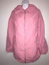 INC INTERNATIONAL CONCEPTS WOMENS LADIES PINK LIGHT WEIGHT 3/4 COAT JACKET ~SZ L