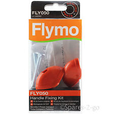 FLYMO Easibag Lawnmower Handle Fixing Kit Screw Knobs FLY050 Genuine Spare Part
