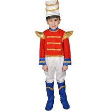 NEW TOY SOLDIER CHILD COSTUME SIZE LARGE 12-14 HALLOWEEN CHRISTMAS PLAY DRESS UP
