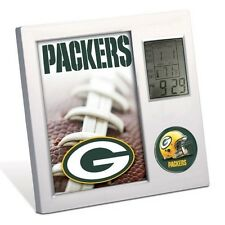 GREEN BAY PACKERS ~ Official NFL Team Desk Alarm Clock ~ New!