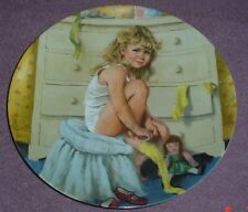Reco International Corp Plate GETTING DRESSED - BECKY'S DAY COLLECTION