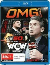 WWE OMG Volume 2 The Top 50 Incidents in WCW History Blu Ray (2 Discs)