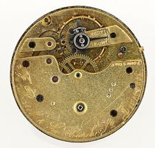 THOMAS RUSSELL & SON CHURCH ST LIVERPOOL SWISS LEVER POCKETWATCH MOVEMENT R215