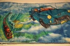 Vintage Harry Potter Flying Car Ron Sleeping Bag Slumber Party Hogwarts #1463
