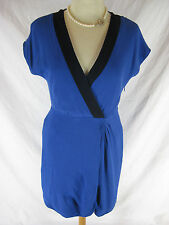 Great Sz 4 8 10  J Crew Blue Day Dress