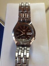 SEIKO 5 SNK305 AUTOMATIC MENS STAINLESS STEEL WATCH