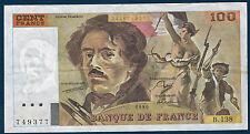 FRANCE - 100 FRANCS DELACROIX Fayette n° 69.2.c de 1990 en TTB B.138 749377