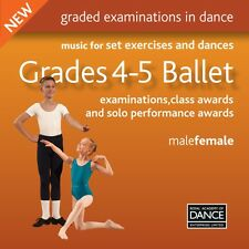 RAD Royal Academy Of Dance Grades 4-5 Ballet Exam CD