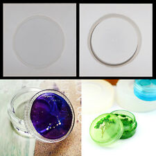 Storage Box Round Box Silicon Mold Epoxy Resin Jewelry Mould Making Craft Tools