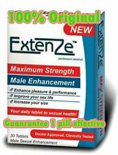 4 Box Original Extenze Maximum Strength Formula Male Enhancement Guarantee works