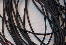 Kautschukband Kautschukkette Kautschukschnur Kautschuk 3mm schwarz rund 5m NEU