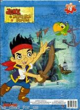 Jake and The Neverland Pirates Jigsaw Frame Puzzle - 16 Pieces - NEW - Free Ship