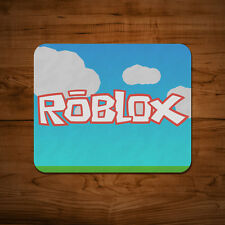 Roblox Tappetino Mouse PC MAC APPLE GIOCO VIDEO GAME REGALO BLOCCHI 5mm spessore Desk Pad